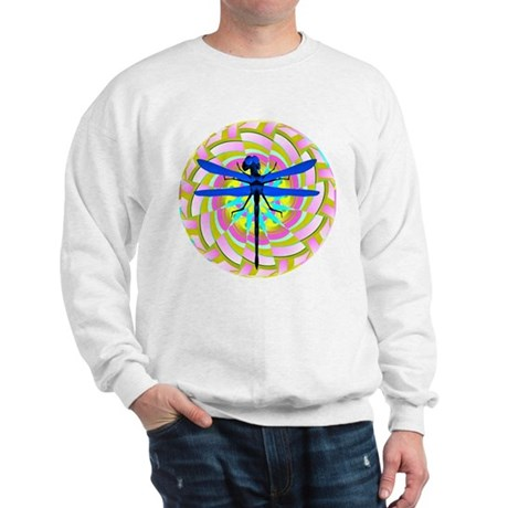 Kaleidoscope Dragonfly Sweatshirt