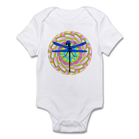 Kaleidoscope Dragonfly Infant Bodysuit