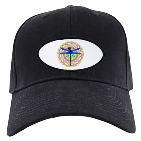 Kaleidoscope Dragonfly Black Cap