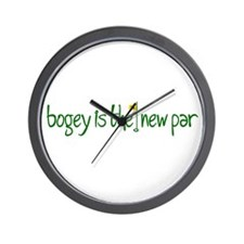 Bogey is the new Par Wall Clock