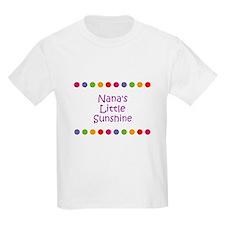 Nana's Little Sunshine T-Shirt
