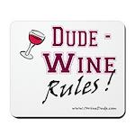 Wine Rules Mousepad
