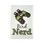 Bird Nerd Birding Ornithology Magnet 10 Pack