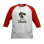 Bird Nerd Birding Ornithology Kids Baseball Jersey