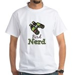 Bird Nerd Birding Ornithology White T-Shirt