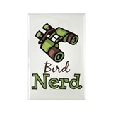 Bird Nerd Birding Ornithology Rectangle Magnet (10