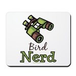 Bird Nerd Birding Ornithology Mousepad