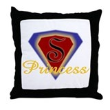 Super Princess Throw Pillow