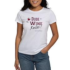 Wine Rules Tee