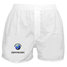 World's Coolest ZOOPATHOLOGIST Boxer Shorts