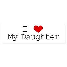 I Heart My Great Grandma Bumper Bumper Sticker
