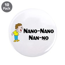 "Nano Nano 3.5"" Button (10 pack)"