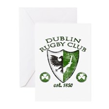 Dublin Rugby Club Greeting Cards (Pk of 10)