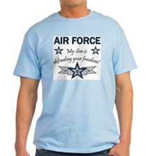 Air Force Son Defending Ash Grey T-Shirt