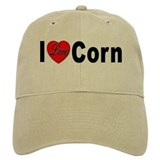 I Love Corn Baseball Cap