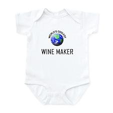 World's Coolest WINE MAKER Infant Bodysuit