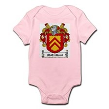 McClelland Family Crest Infant Creeper