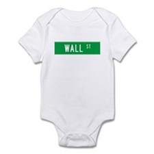 Wall Street T-shirts NY Infant Bodysuit