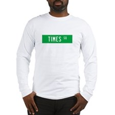 Times Square T-shirts Long Sleeve T-Shirt