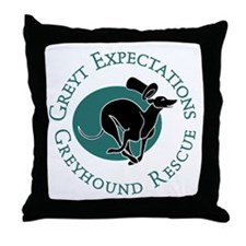 Running Pip Throw Pillow