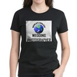World's Coolest WEDDING PHOTOGRAPHER Women's Dark