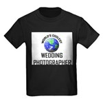 World's Coolest WEDDING PHOTOGRAPHER Kids Dark T-S