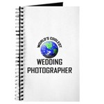 World's Coolest WEDDING PHOTOGRAPHER Journal