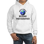 World's Coolest WEDDING PHOTOGRAPHER Hooded Sweats