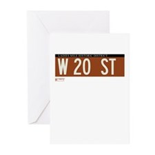 20th Street in NY Greeting Cards (Pk of 10)
