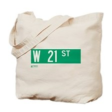 21st Street in NY Tote Bag