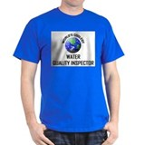 World's Coolest WATER QUALITY INSPECTOR T-Shirt
