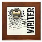 Writer Alchemy Framed Tile