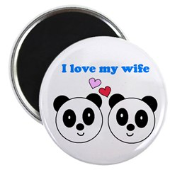 I LOVE MY WIFE Magnet