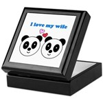 I LOVE MY WIFE Keepsake Box