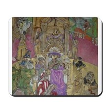 Queen Sheba..King Solomon Mousepad