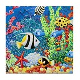 Coral Reef Tile Coaster