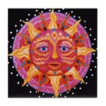 Hot Sun Tile Coaster