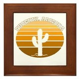 Phoenix, Arizona Framed Tile