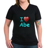 I Love Abe (Lt Blue) Shirt
