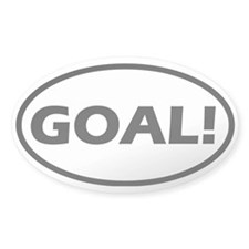 Goal! Oval Decal