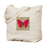 Red Butterfly 2 Tote Bag