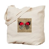 Red Butterfly 1 Tote Bag