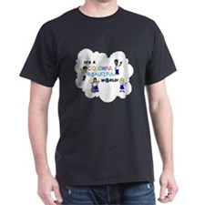 BWTlogo Full Cast Multi Color T-Shirt
