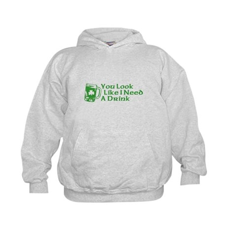 You Look Like I Need a Drink Kids Hoodie