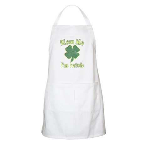 Blow Me I'm Irish BBQ Apron