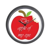 Apple of my eye Wall Clock