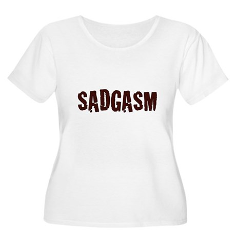 Sadgasm Plus Size Scoop Neck Shirt