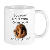 So Many Right Wing Christians Mug