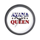 AYANA for queen Wall Clock