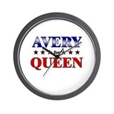 AVERY for queen Wall Clock